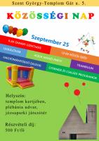 Egyházközségi Közösségi Nap – szeptember 25.