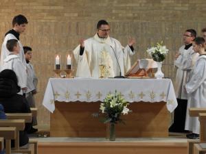 Ünnepi szentmise a templomszentelés 2. évfordulóján 2017